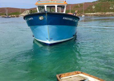 Boast in St Marys Harbour