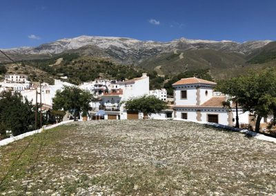 Old threshing floor in Andalucian village