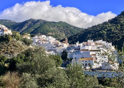 Andalucian while village