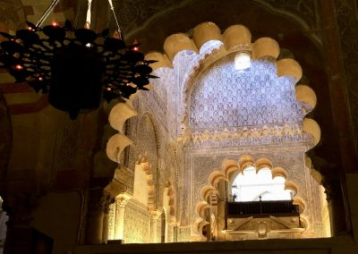 The Mosque of Cordoba in Spain