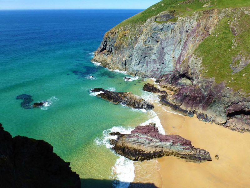 Butter Cove along the Cornish coast