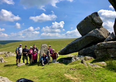 Down Tor hiking group